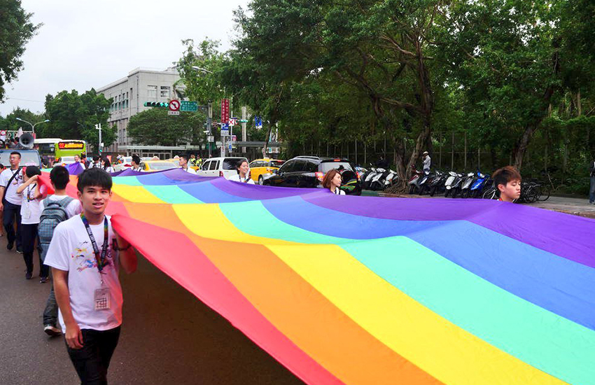 Taiwan is likely to become the first country in Asia to recognize same-sex marriage (Photo: Twitter)