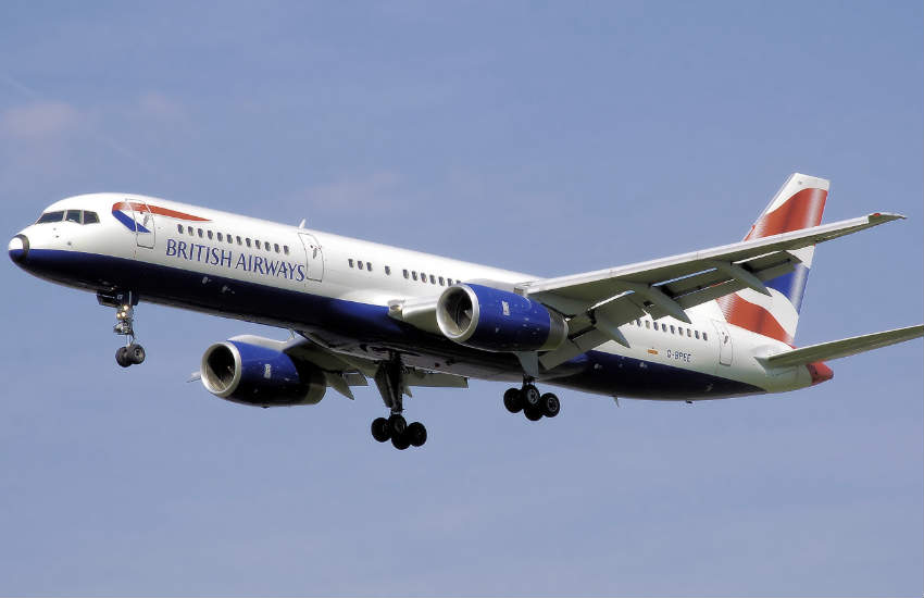 British Airways Boeing 757-200