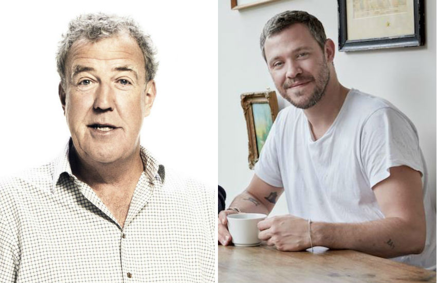 Jeremy Clarkson (left) and Will Young