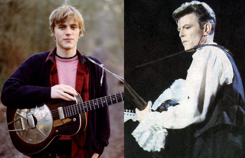 Johnny Flynn and David Bowie.