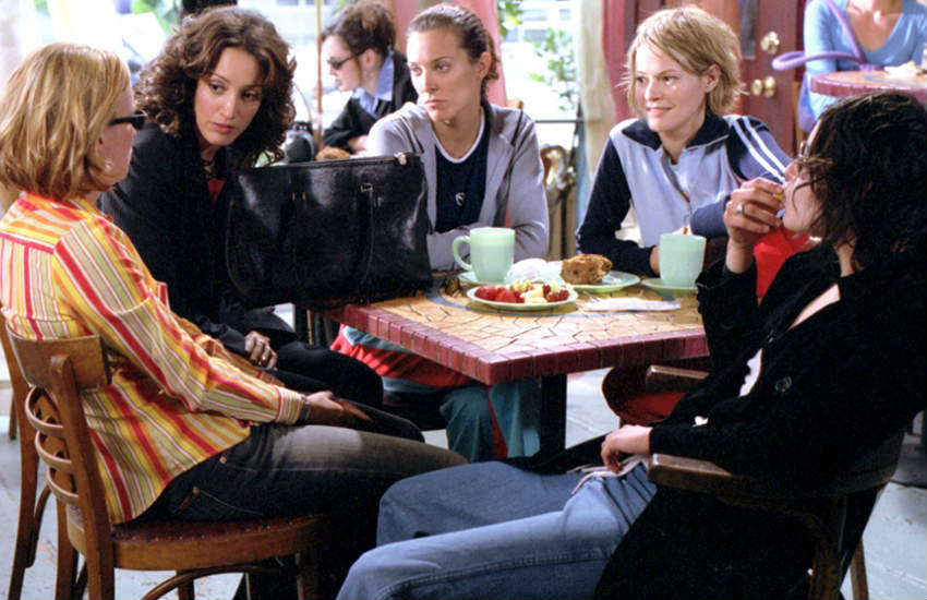 The original cast of The L Word.