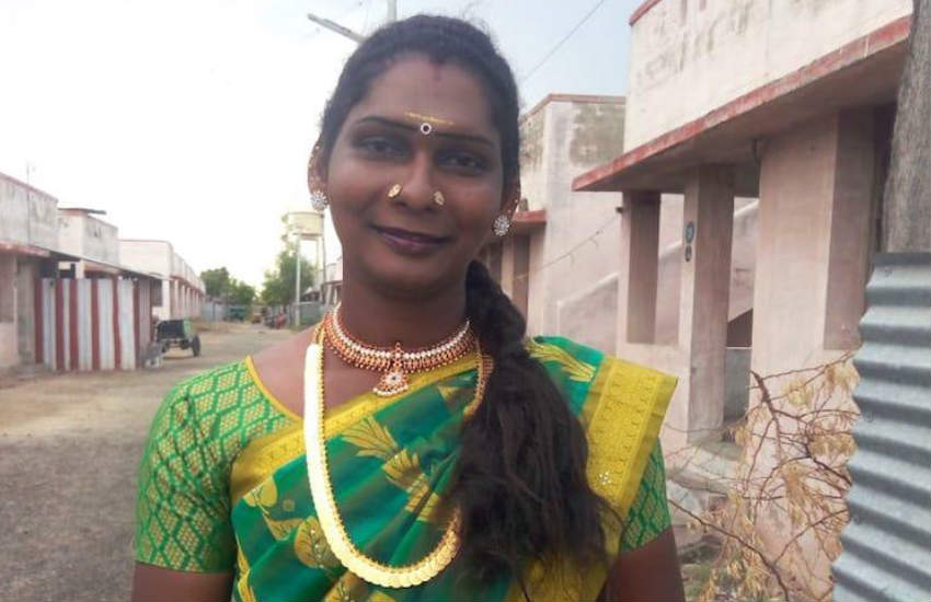 Indian trans woman priest, Rajathi. | Photo: Facebook.