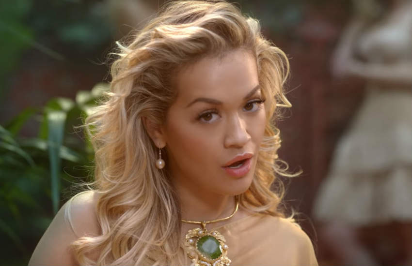 Rita Ora in the video for Girls.