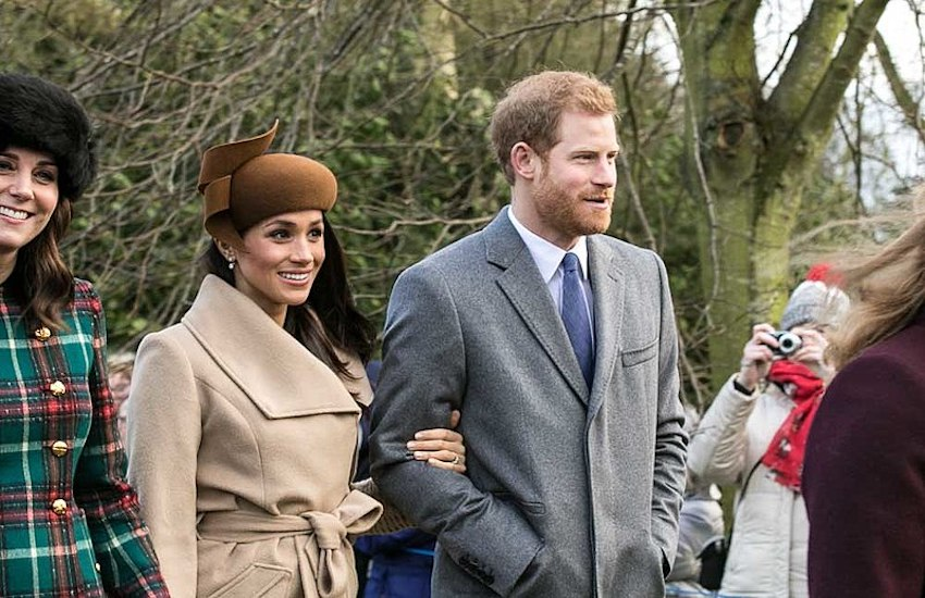Meghan Markle and Prince Harry in 2017