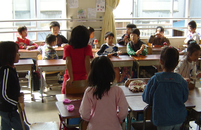 An elementary school in Japan (Photo: Flickr / Tony Cassidy)