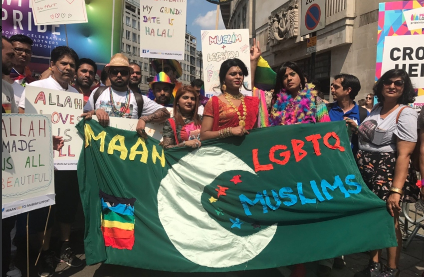lgbti muslims have condemned the Birmingham protests