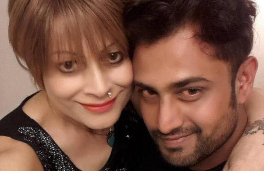 Bobby Darling and her husband (Photo: Facebook)