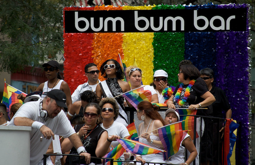 The Bum Bum Bar float in Pride 2008