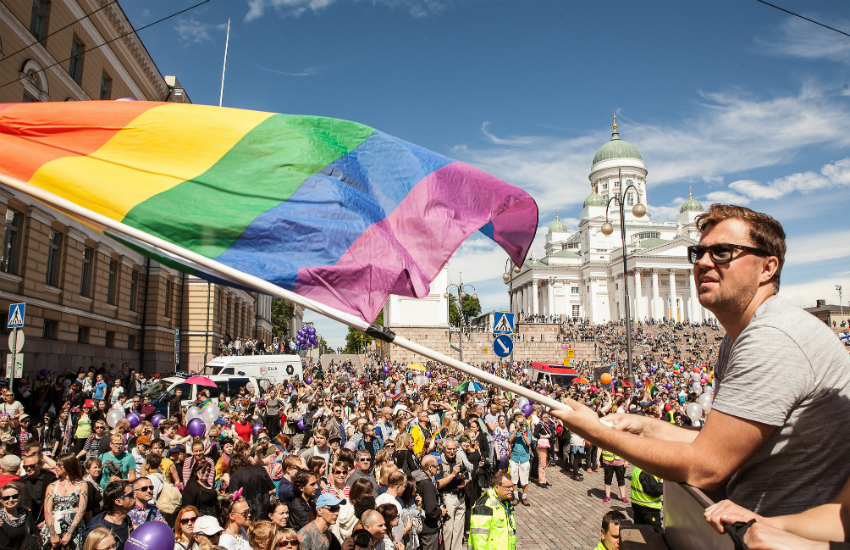 Helsinki Pride happiest countries in the world