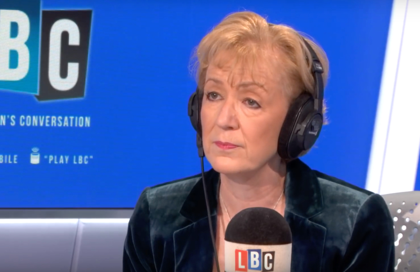 UK Conservative Party politician Andrea Leadsom on LBC