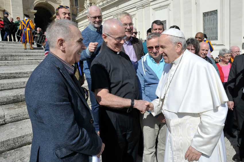 LGBTI Catholics meet with Pope Francis in the Vatican | Photo: Supplied