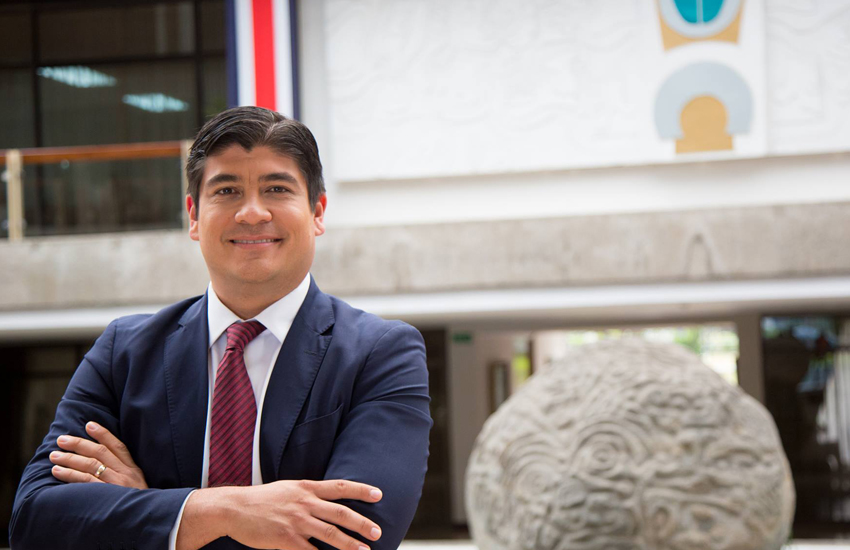 President of Costa Rica Carlos Alvarado (Photo: Facebook)