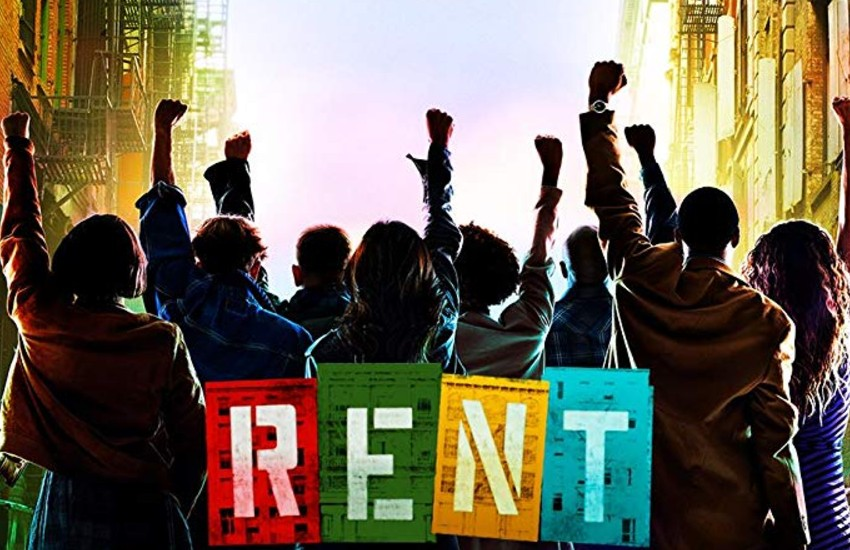 Poster for Fox's production of Rent