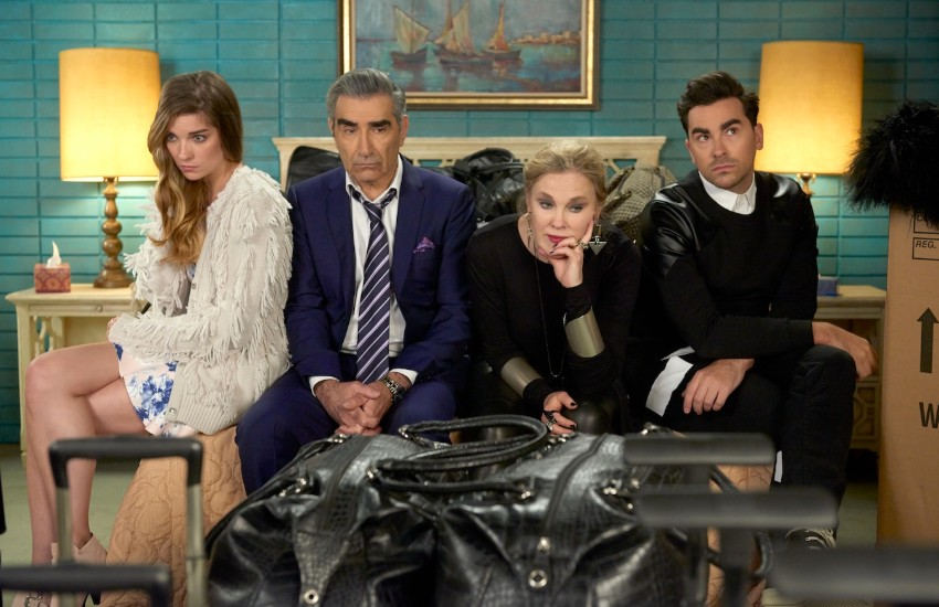 Main characters of Schitt's Creek