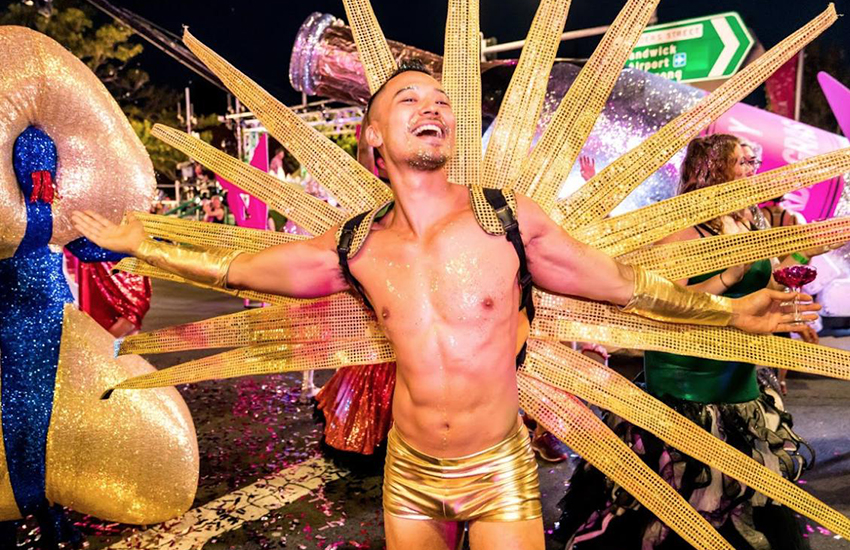 The 41st Sydney Gay and Lesbian Mardi Gras parade (Photo: Twitter)