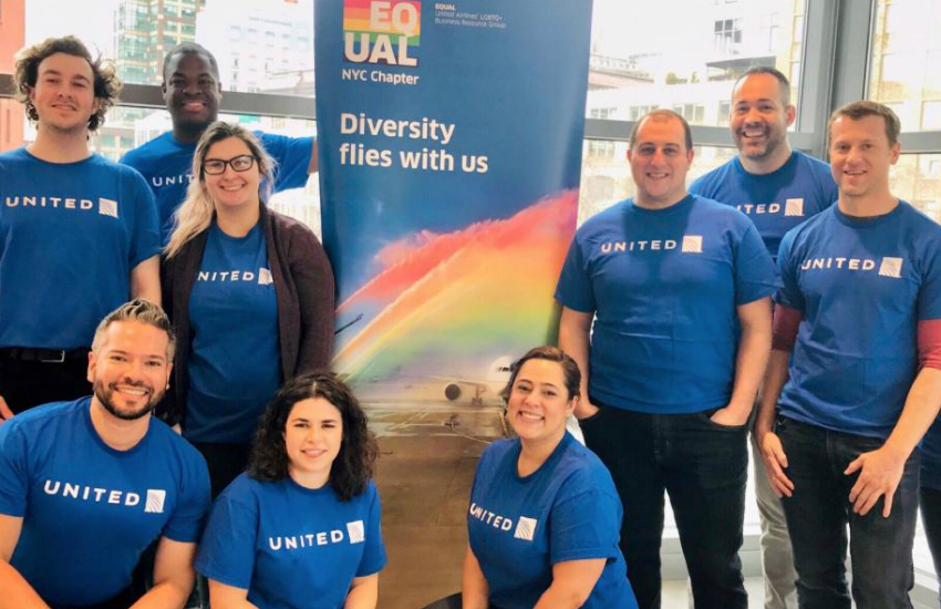 United Airlines gender neutral non binary options
