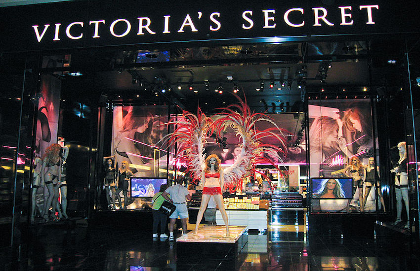 A Victoria's Secret store in Las Vegas