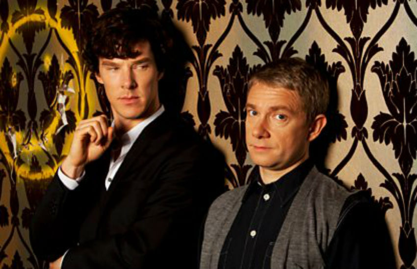 Unrequited love?: Fans wanted to see Holmes and Watson become a couple. Photo: BBC