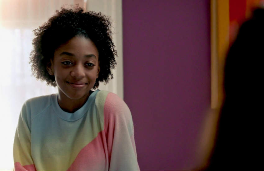 Eris Baker as Tess in an episode of NBC hit show This Is Us.
