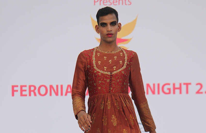 India's second androgynous fashion show presented gender diverse designs worn by LGBTI models. (Photo: Provided)