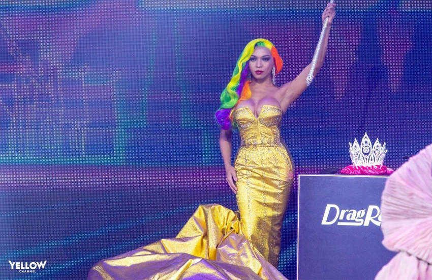 Angele Anang was named the first transgender winner of Ru Paul's Drag Race (Photo: Provided)