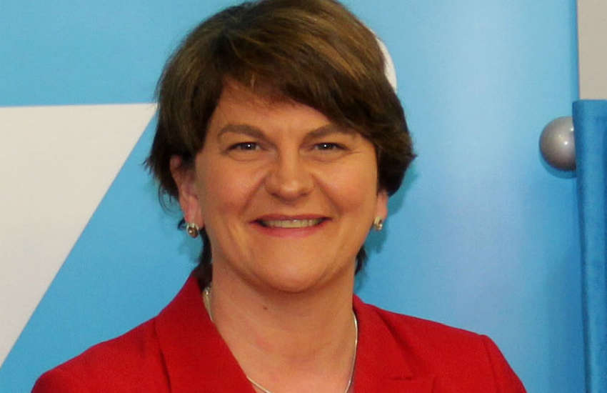 Arlene Foster no equal marriage in ireland