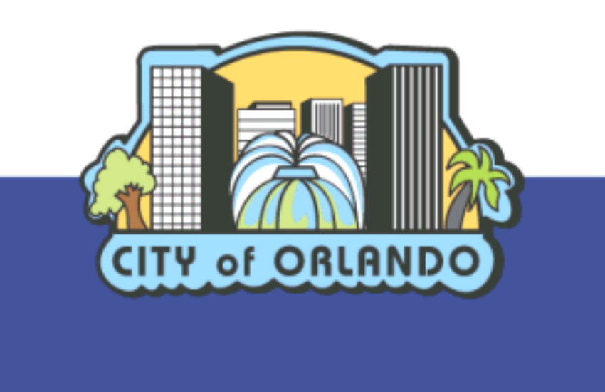 Flag for the city of Orlando, Florida