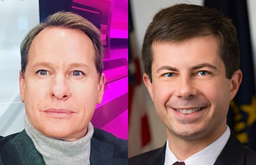 Carson Kressley (left) would vote for Pete Buttigieg based on his merit, not his sexuality
