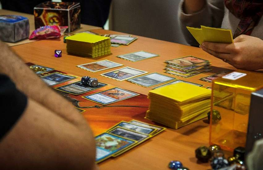 Playing the Magic: The Gathering card game