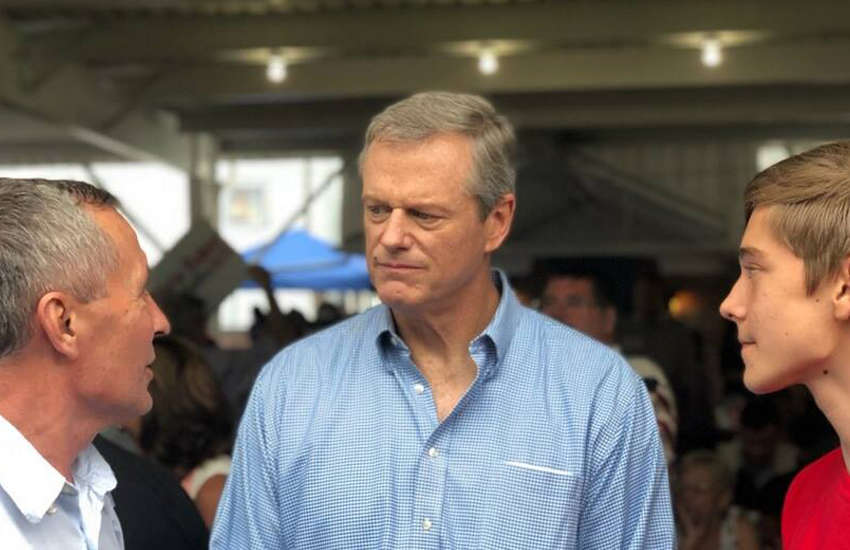 Massachusetts' Republican Governor Charlie Baker (Photo: Facebook)