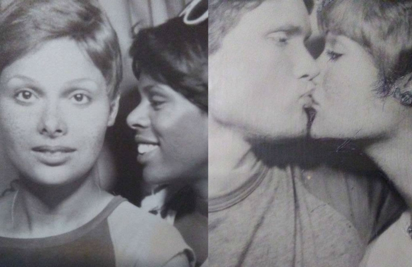 Nance Lomax (far left, far right) was at Stonewall | Photos: Supplied