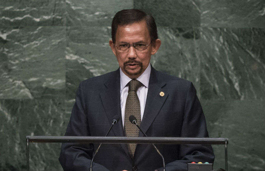 Sultan of Brunei Hassanal Bolkiah.