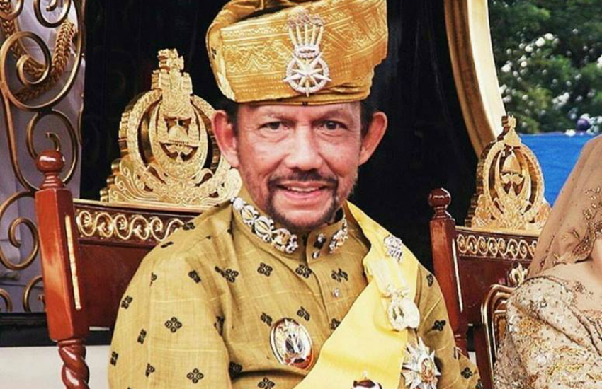 The Sultan of Brunei - Hassanal Bolkiah