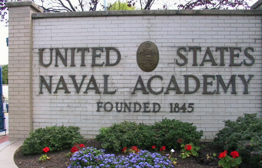 US_Naval_Academy sign