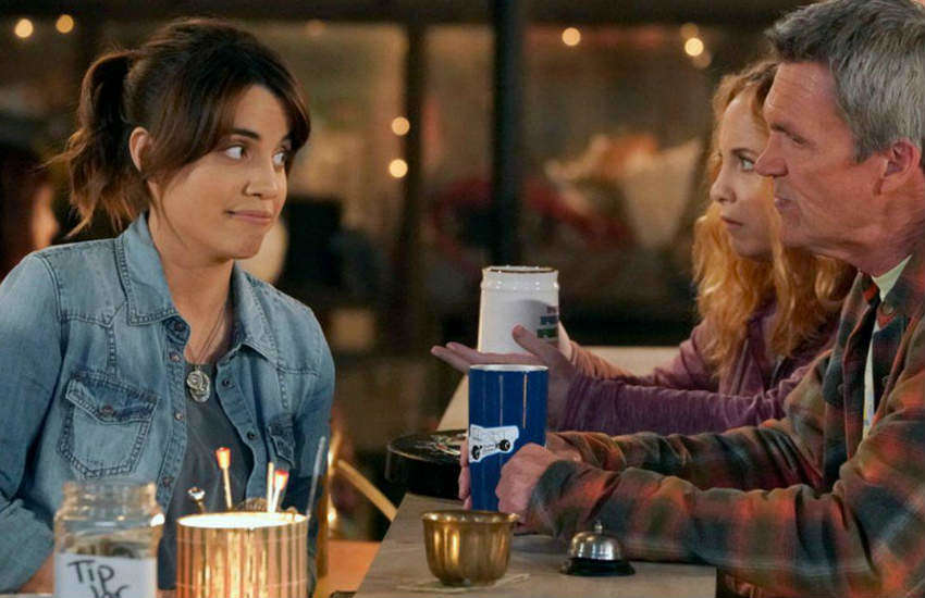 Natalie Morales plays the titular role in new NBC's sitcom Abby's.