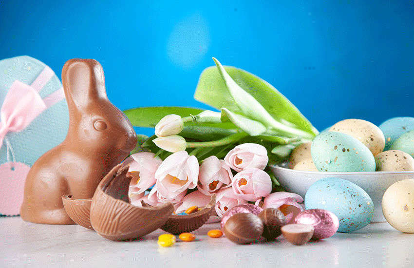 The Easter eggs disappeared before the hunt in Warwickshire started | Photo: Pexels