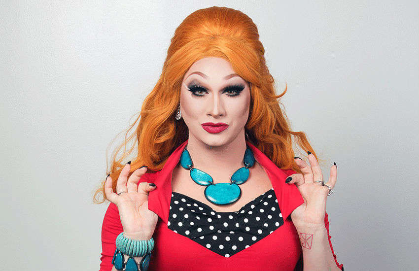 Jinkx in a promotional still for her web show Cool Mom   Photo: Drag World UK