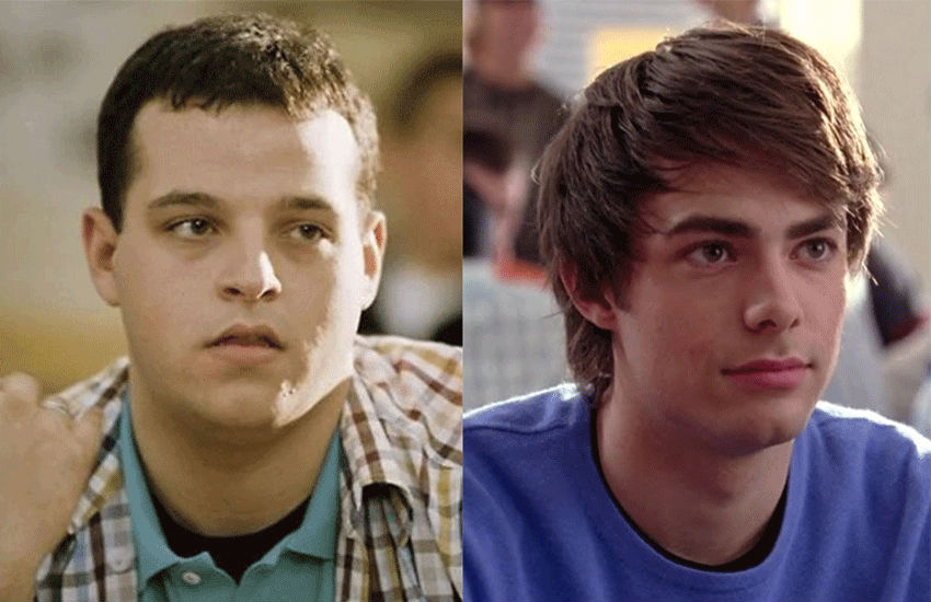 Jonathan Bennett and Daniel Franzese as their Mean Girls characters | Photo: Paramount Pictures