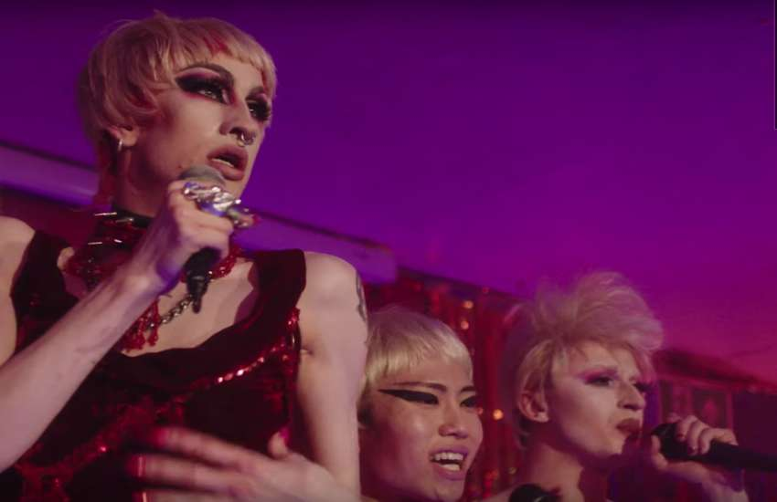 Sink The Pink's sequinned and glittered queens took to the stage to lip sync P!nk