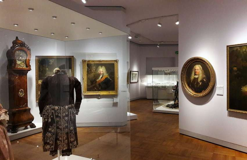 A portrait gallery in the Polish National Museum in Warsaw