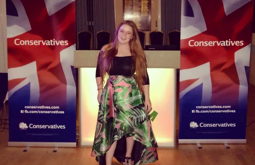 Elena Bunbury is a 21-year-old bisexual hoping to run in the next UK general elections