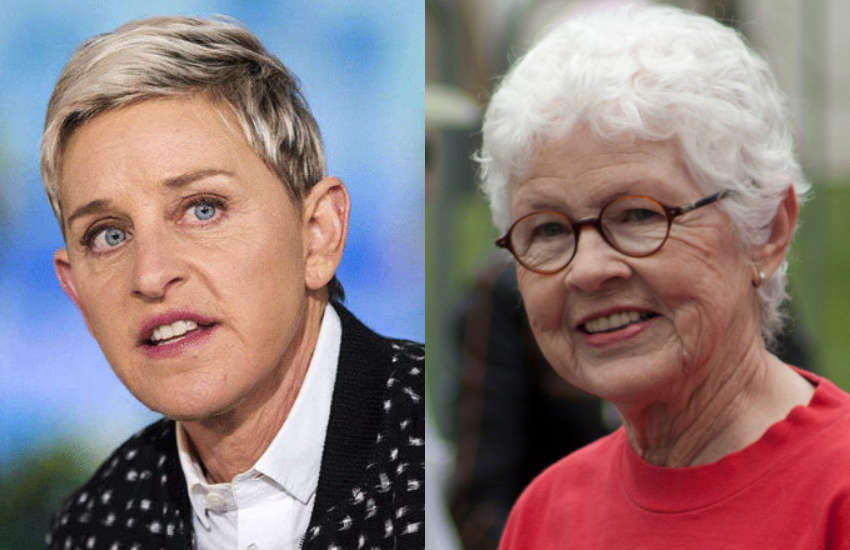 Ellen and Betty Degeneres