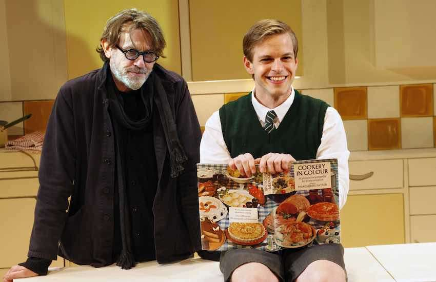 Nigel Slater and Giles Cooper as Nigel Slater in west end adaptation of Toast | Photo: Simon Annand