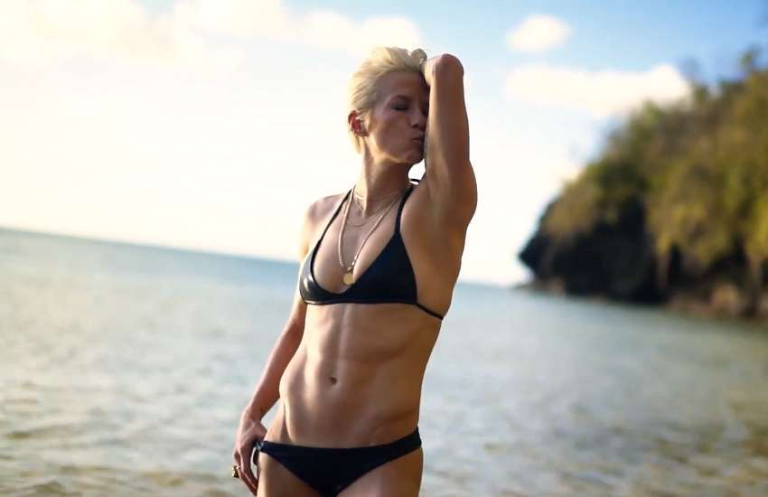 Megan Rapinoe for Sports Illustrated