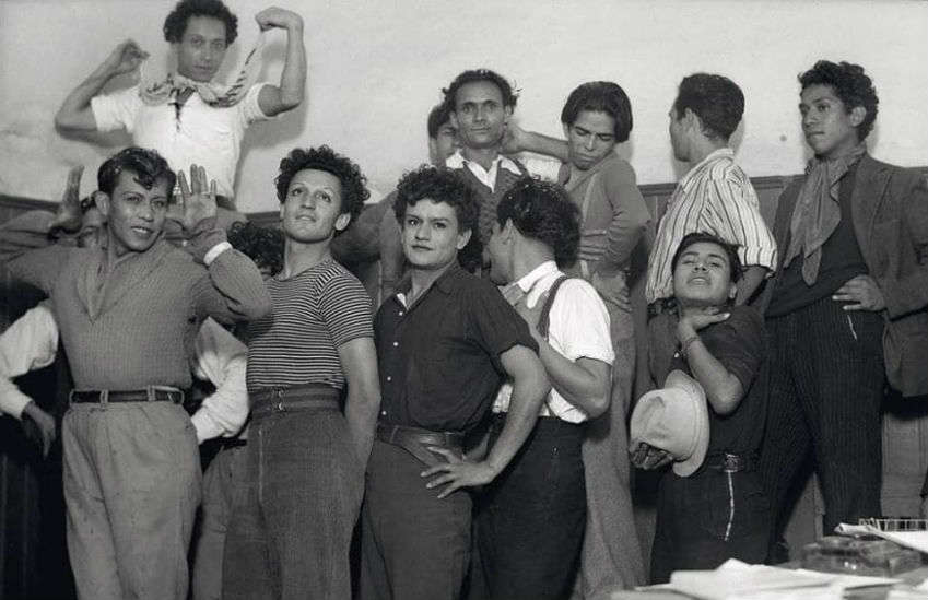 Prisoners in Mexico circa 1940 | Photo: INAH