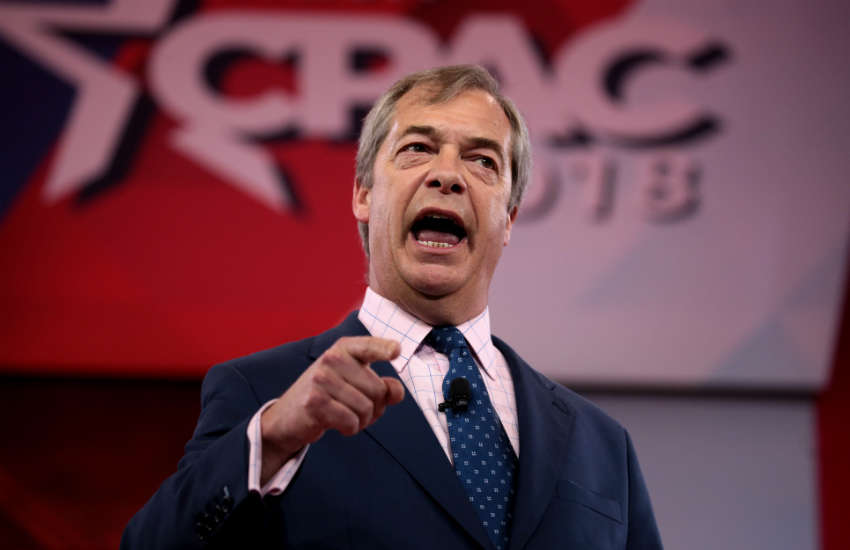 Nigel Farage far right parties uk brexit