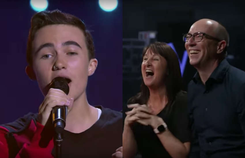 15-year-old trans guy Oliver Cuthbert on The Voice Australia
