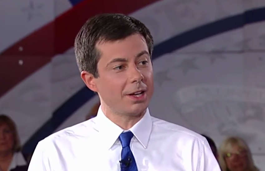 Pete Buttigieg on Fox News (Photo: YouTube)