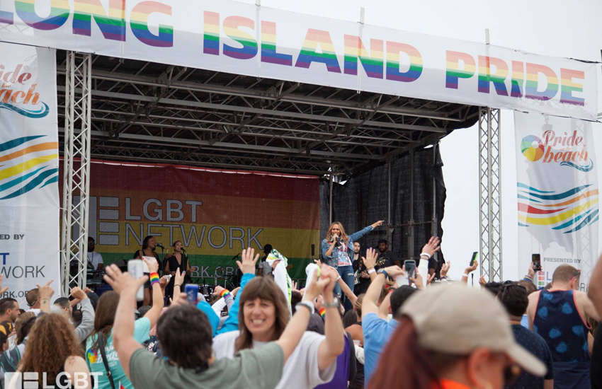 The poster was advertising a LGBTI beach pride event (Photo: LGBT Network)
