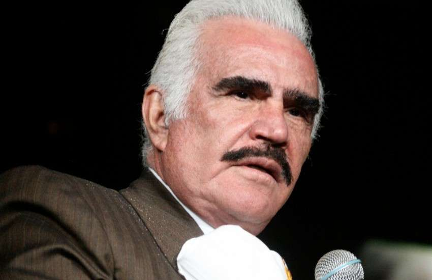Vicente Fernández, a Mexican singer
